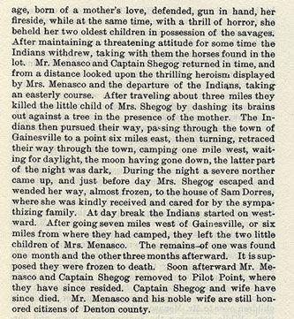 The Menasco and Shegog Families