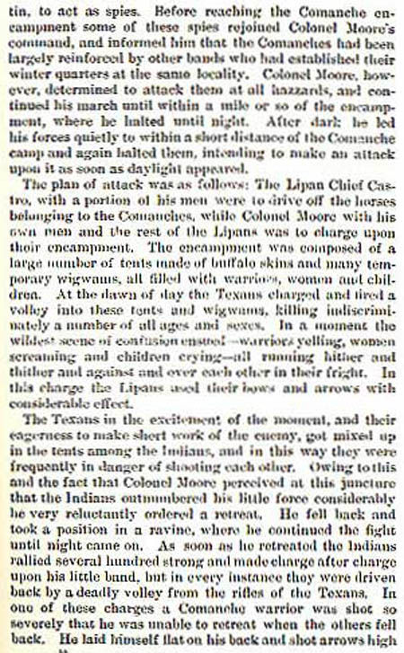 Col Moore story by Wilbarger