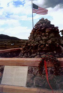 Picture of Mountain Meadows Massacre Monument