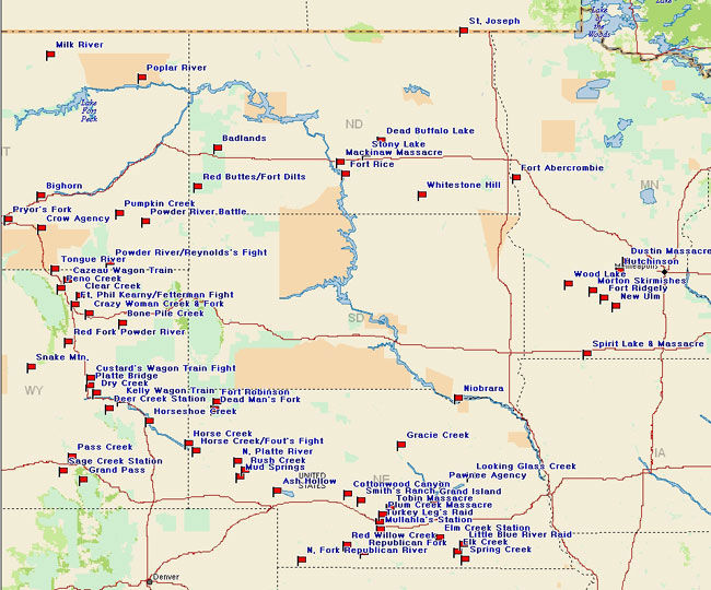 Northern Plains Battle Map