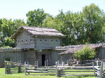 Picture of Fort Parker Blockhouse