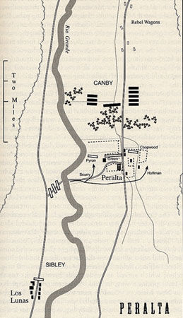 Map of Peralta