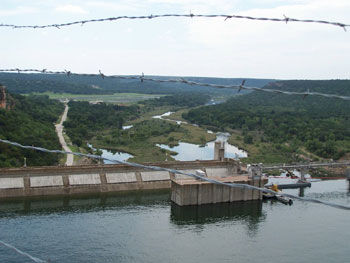 Picture taken from Observation Point at Possum Kingdom Lake