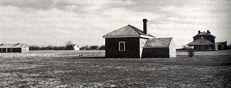 Photo of bakery at Fort Richardson taken by Charles M. Robinson, III from the book, Frontier Forts of Texas