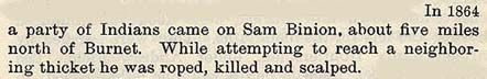 Sam Binion story by Wilbarger