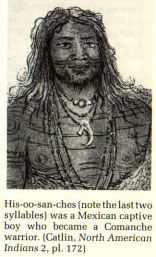 Picture of His-oo-san-ches (Sanchez), Mexican Captive