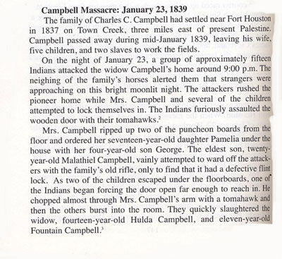 Story of the Campbell Massacre