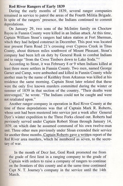 McIntire Family Massacre & Other Red River Area Murders in 1839