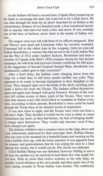 Bird's Creek Battle, May 26, 1839