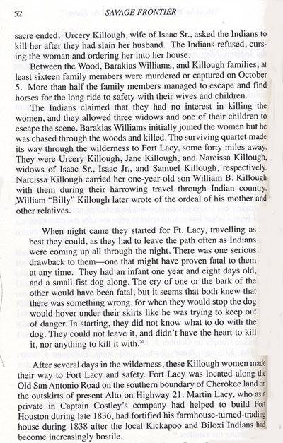 Killough Massacre Story