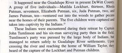 Story of Lockhart and Putman in Dewitt