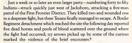 Indian Raid in Jack County
