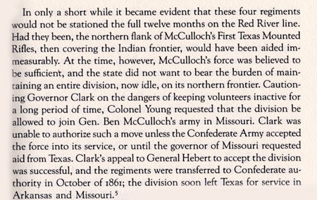 Col. William Cocke Young's Minutemen Ranger Activities at the Outbreak of the Civil War