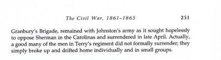 Texas Soldiers in the Civil War Eastern Battlefields Story