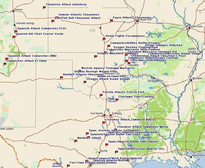 Spanish Plains Battle Map