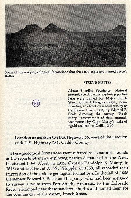 Steen's Buttes Picture