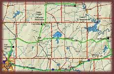 Cross Plains Road Trip Map