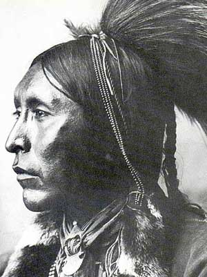 Picture of Two Hatchet, Kiowa Warrior