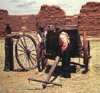 Picture of Wagon at Fort Union