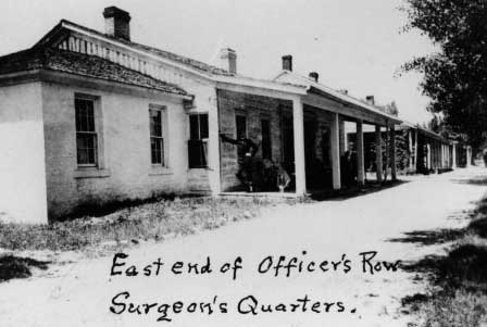 Picture of Fort Washakie Surgeon's Quarters