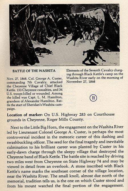 Battle of the Washita Picture
