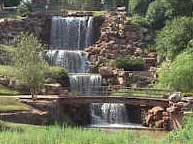 Picture of the Falls at Wichita Falls