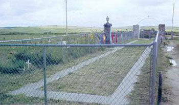 Picture of Wounded Knee Battleground