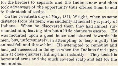 James Wright story by Wilbarger