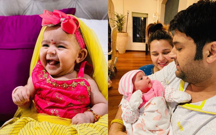 Kapil's daughter turns one