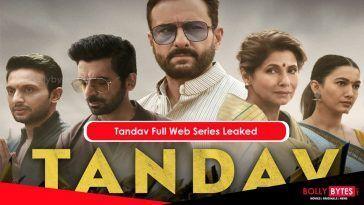 Tandav Full Web Series Free Download