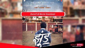 Jhund Full Movie Download