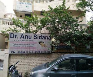 Dr Anu Sidana clinic exterior in Ashok Vihar, Gurgaon