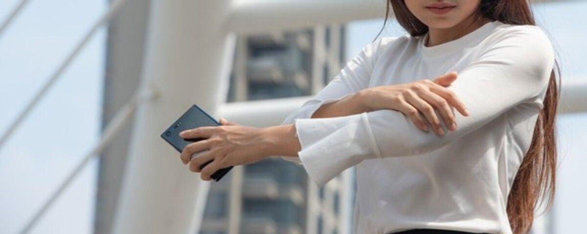 smartphone hand pain