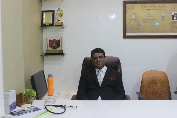 Dr. Shankar Sawant founder and chief surgeon at Rejoice Hair Transplant Clinic