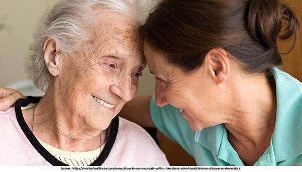 Severe stage Alzheimer's disease