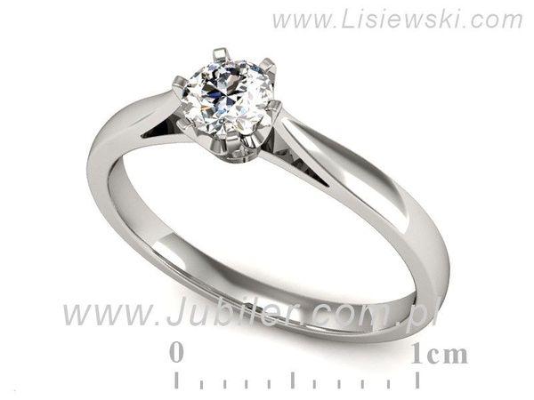 Pierścionek Zaręczynowy Diament P16330b Lisiewski