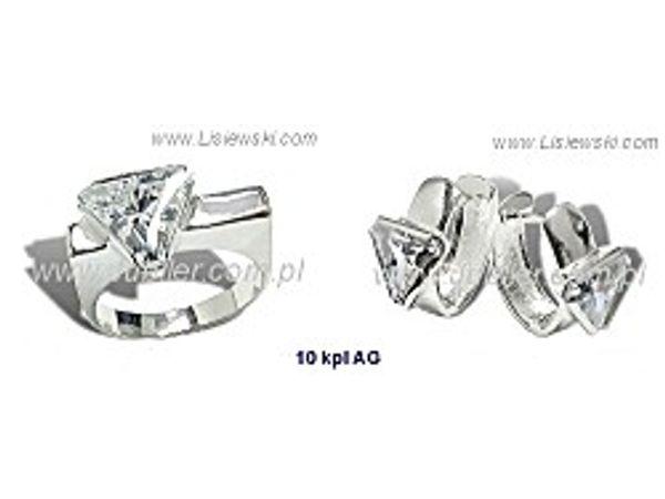 Wyjątkowa Biżuteria srebrna - 10kplag - 1