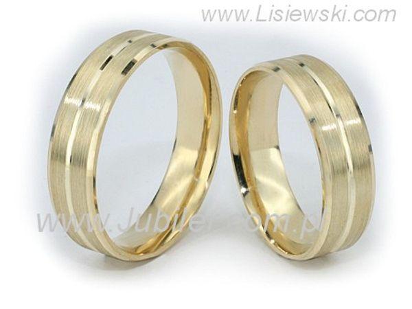 Obrączki złote - zo410d - 1