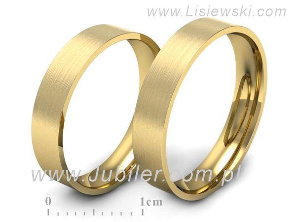Obrączki z żółtego złota - s11zm - 1