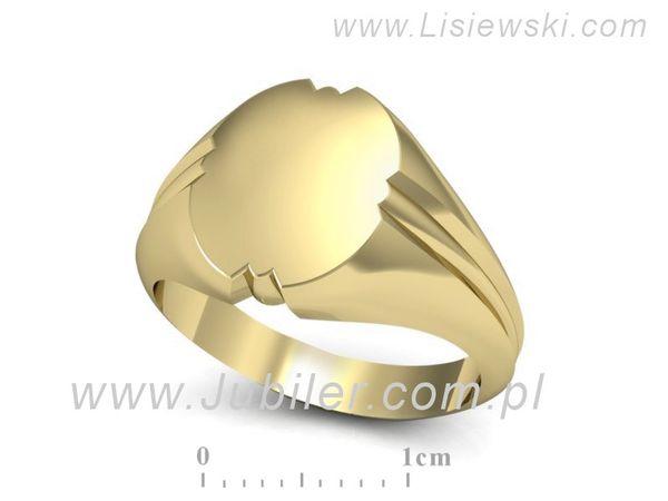 Sygnet złoty - sg2 - 1