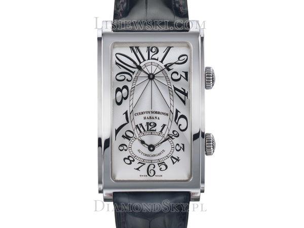 Wyjątkowy zegarek CyS Prominente Dual Time - 1124_1AG - 1