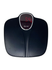 Electric Weighing Scale Black