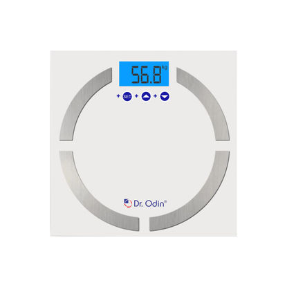 Body Fat Analyzer White