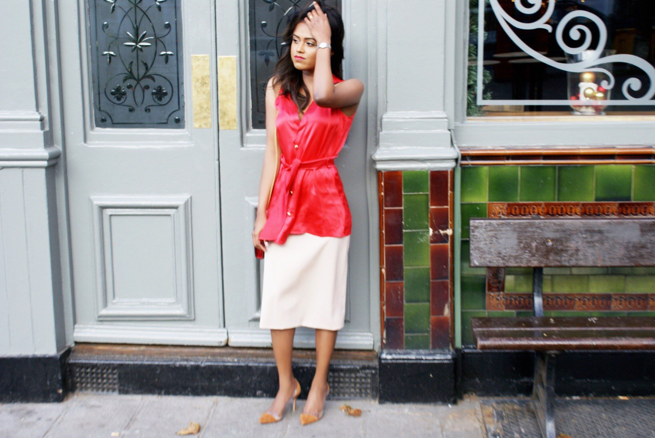 A lady in Red Valentin - Sachini London