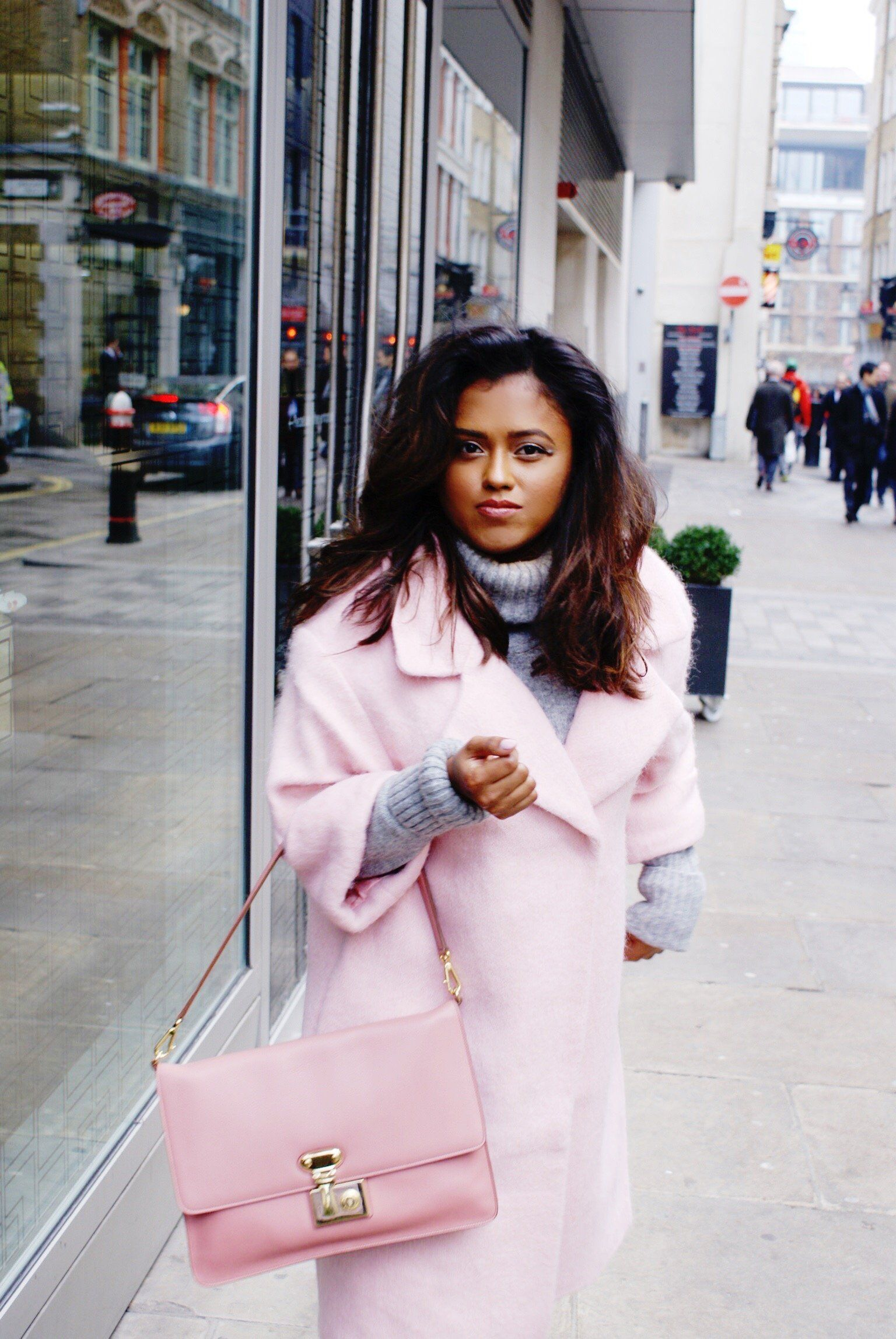 How to style a Pink Coat - Sachini London