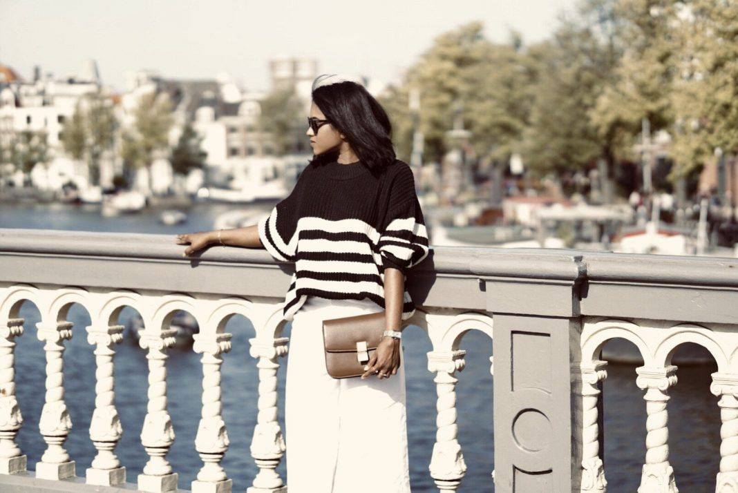OVERSIZED STRIPES MEETS CHIC CULOTTES | Sachini