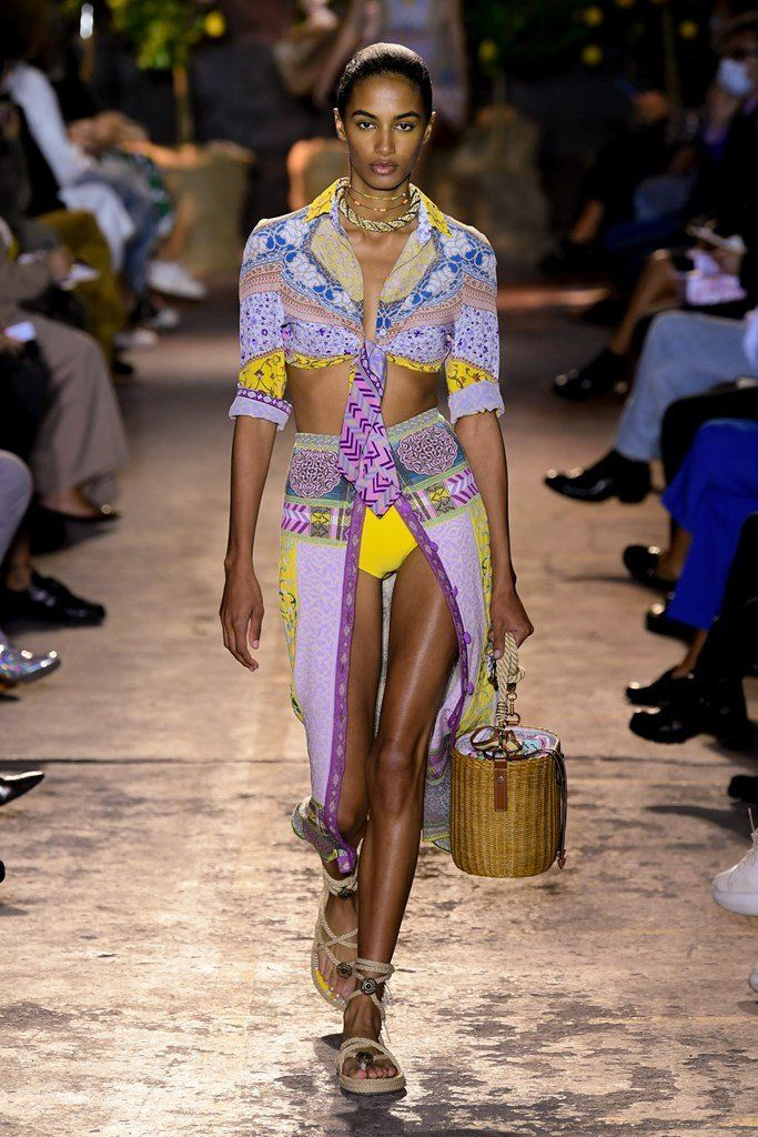 Milan Fashion Week Spring Summer 21 Roundup - Etro - Sachini