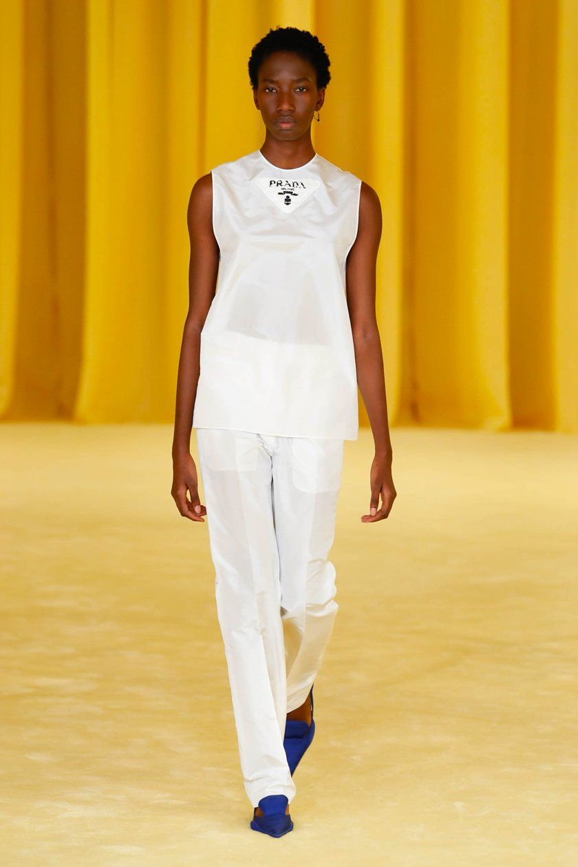 Milan Fashion Week Spring Summer 21 Roundup - Sachini - Prada