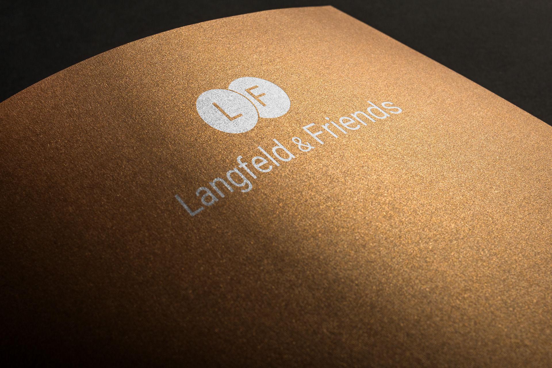 Langfeld & Friends Logodesign