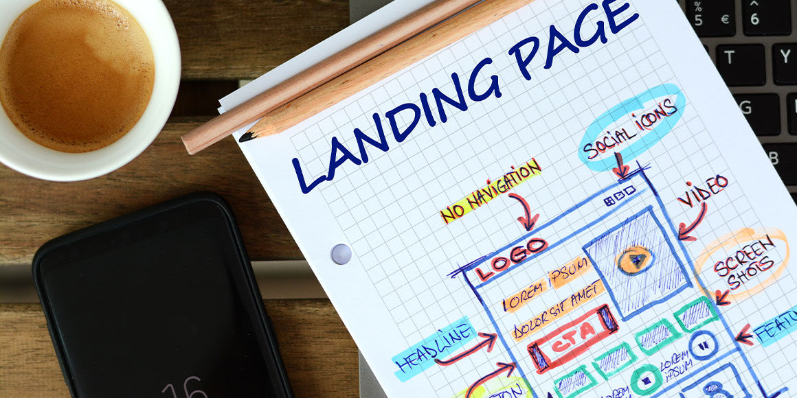 How to design landing pages that can improve your website's conversion rate